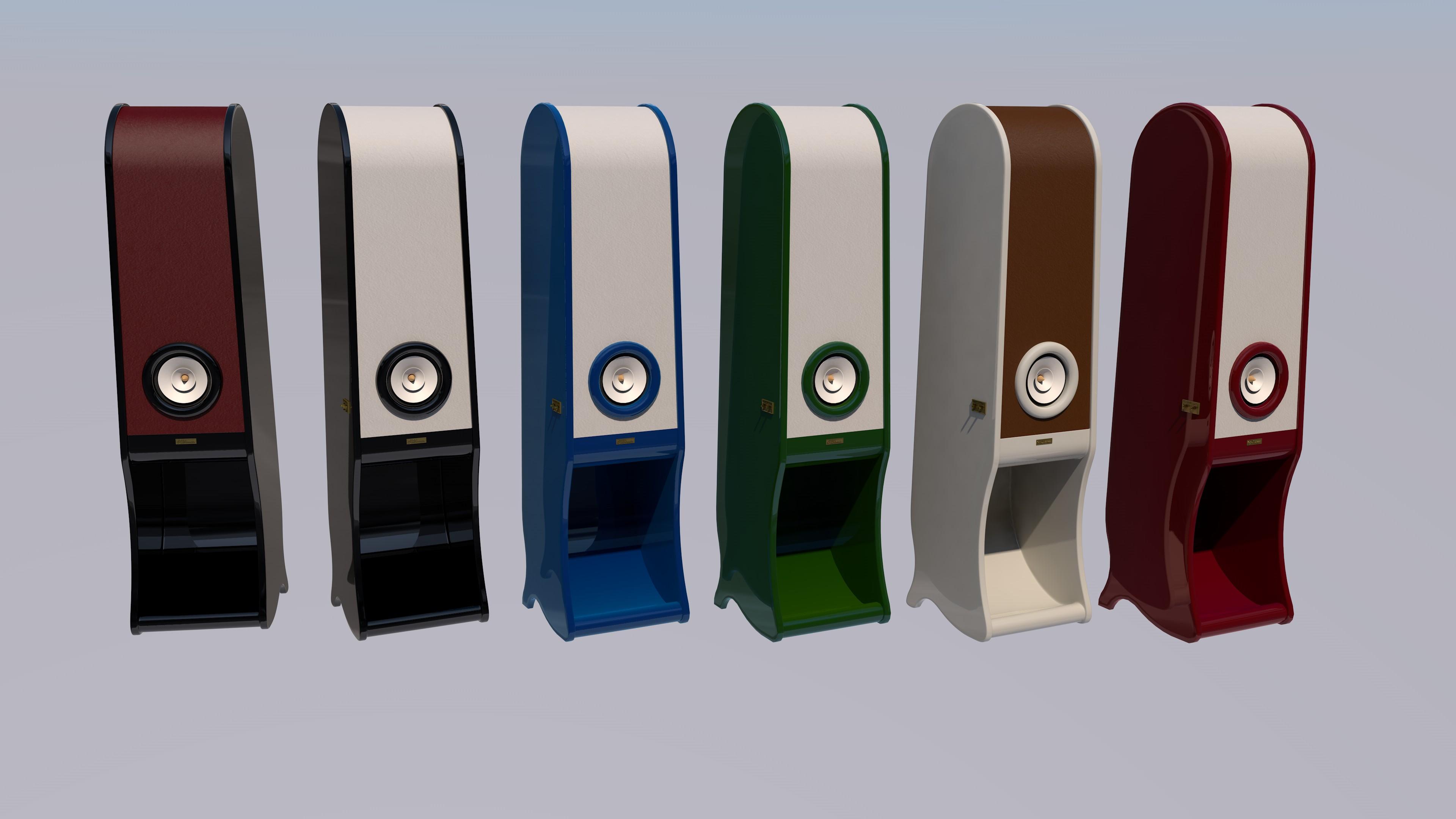 RDacoustic reproduktorové soustavy Evolution stereo 2.0 barevné provedení