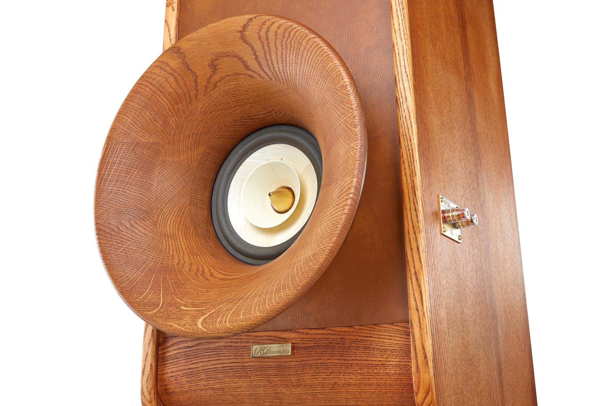 High End speakers Evolution + front Horn Oris 500 + Voxativ AC1.8 driver