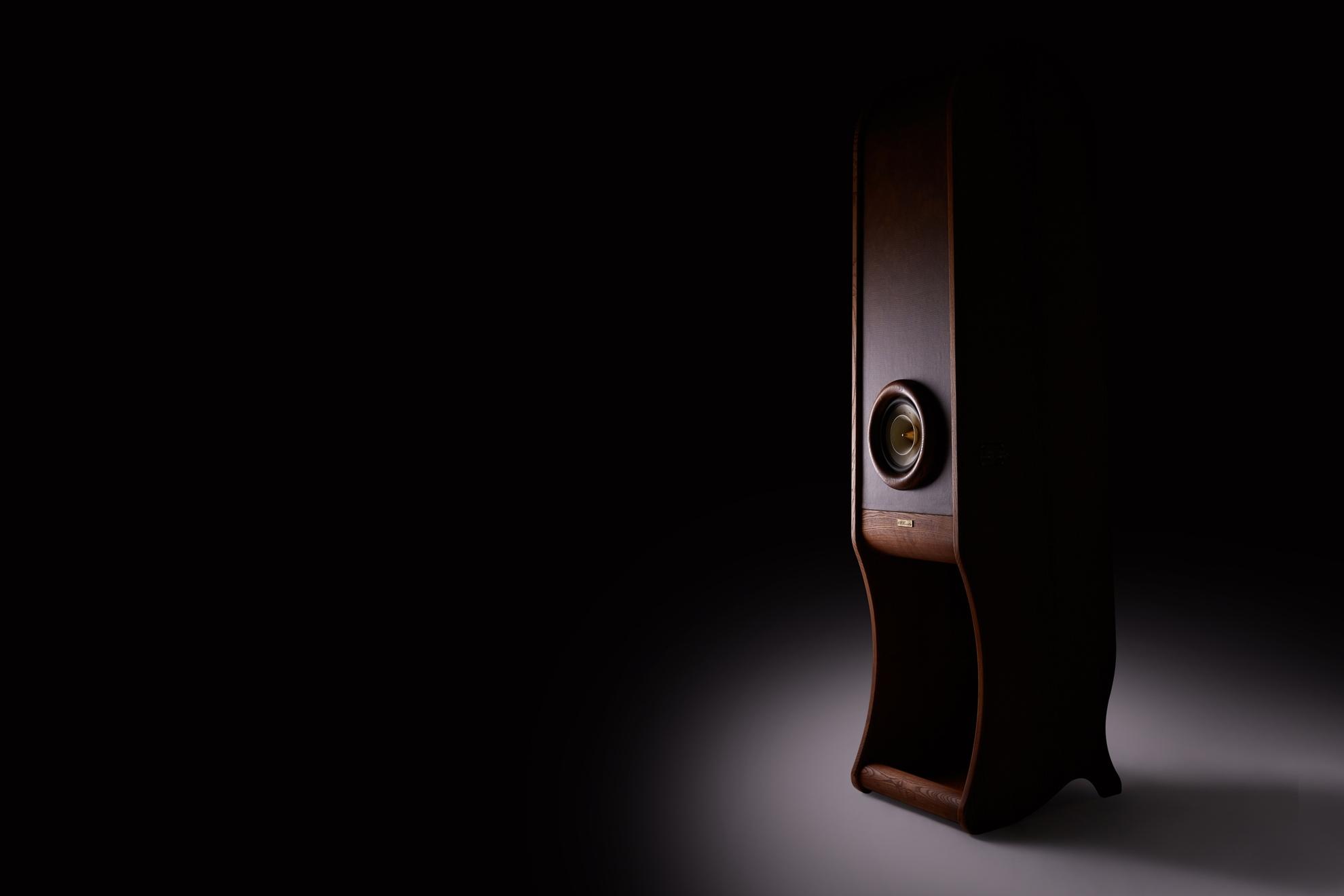 High End speakers Evolution RDacoustic wood variant - dark