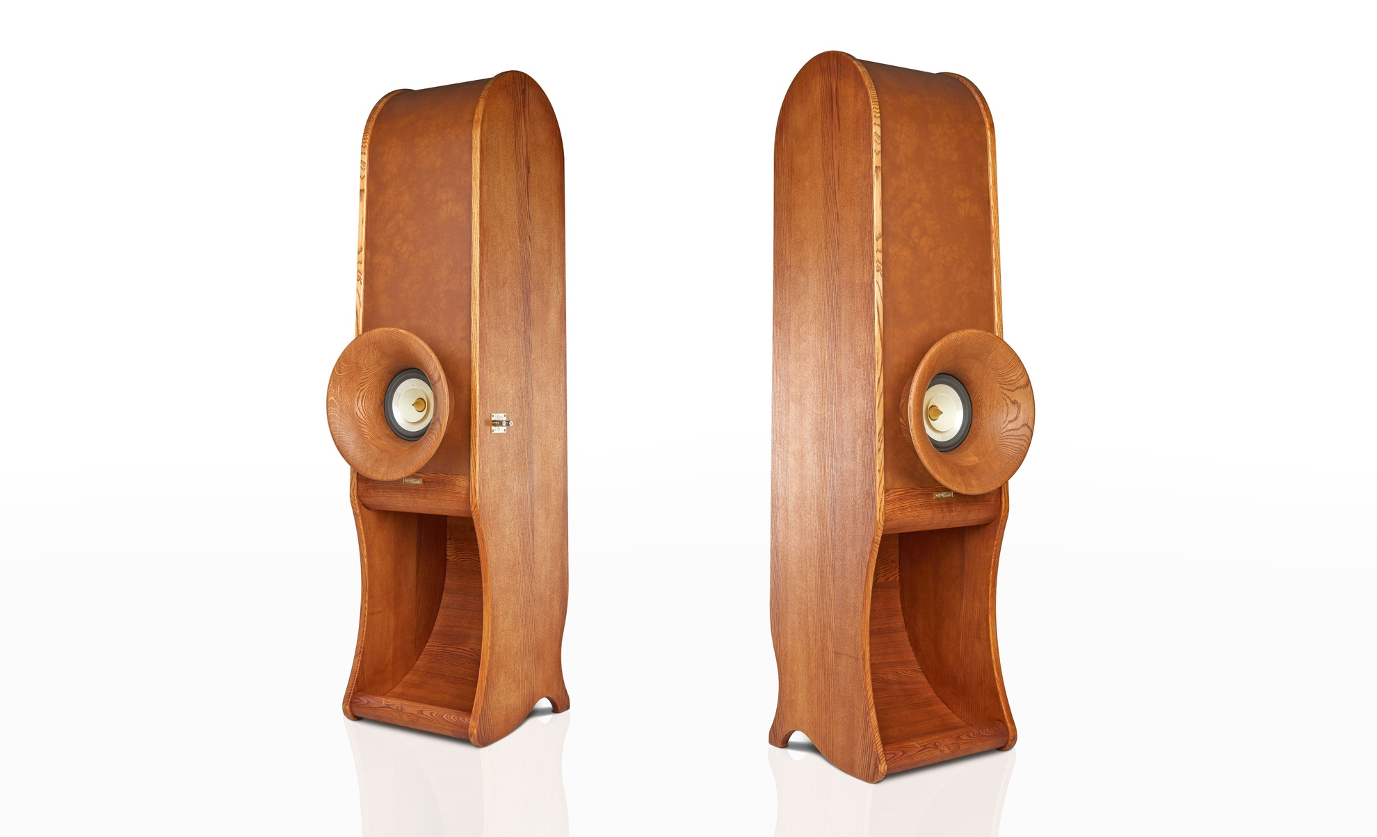 High End speakers Evolution RDacoustic wood variant + front horn Oris500