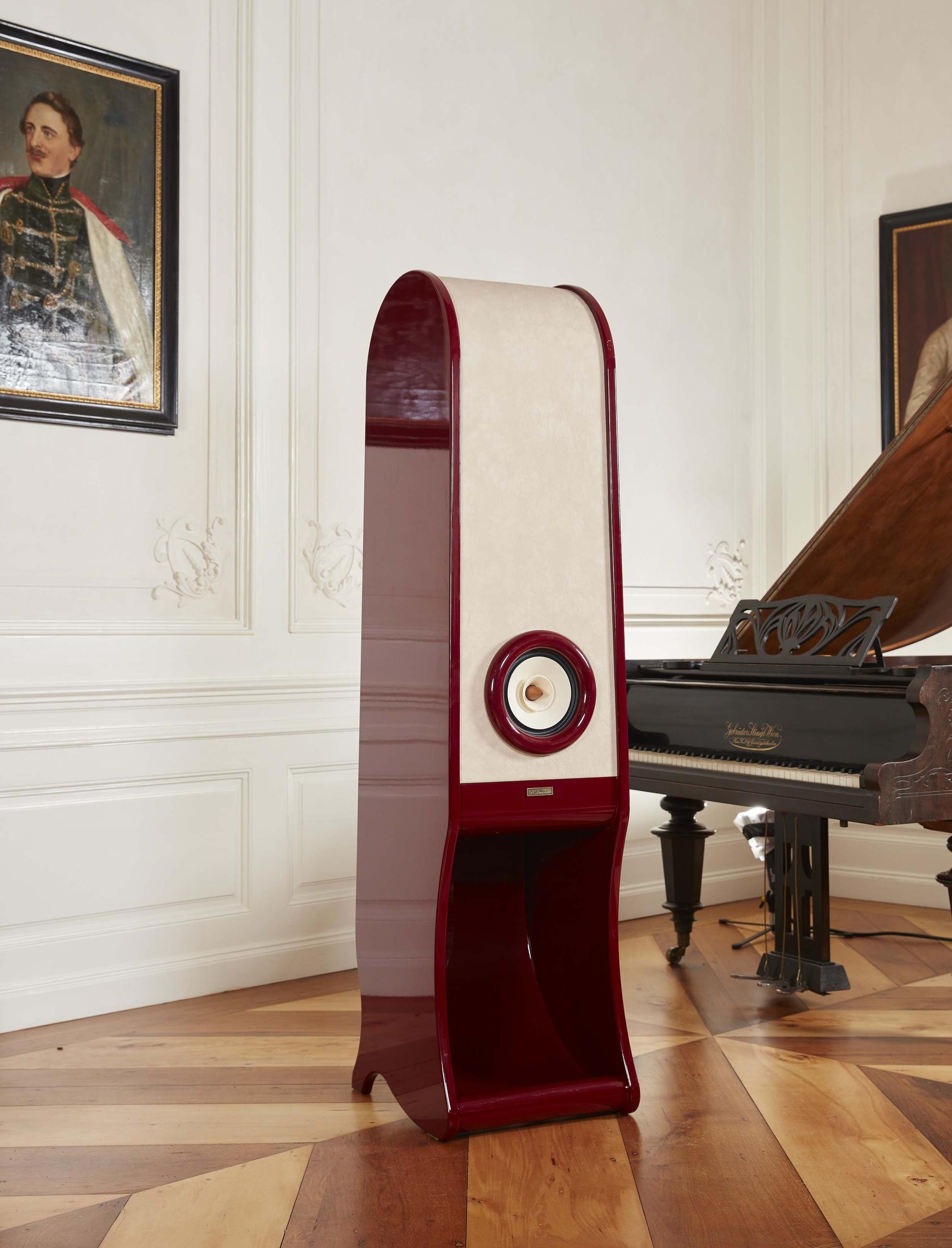 RDacoustic Evolution High End back Horn speakers - Lesna castle Czech republic