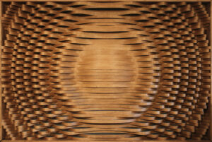 Hybrid Acoustic Diffuser – Wood/Foam