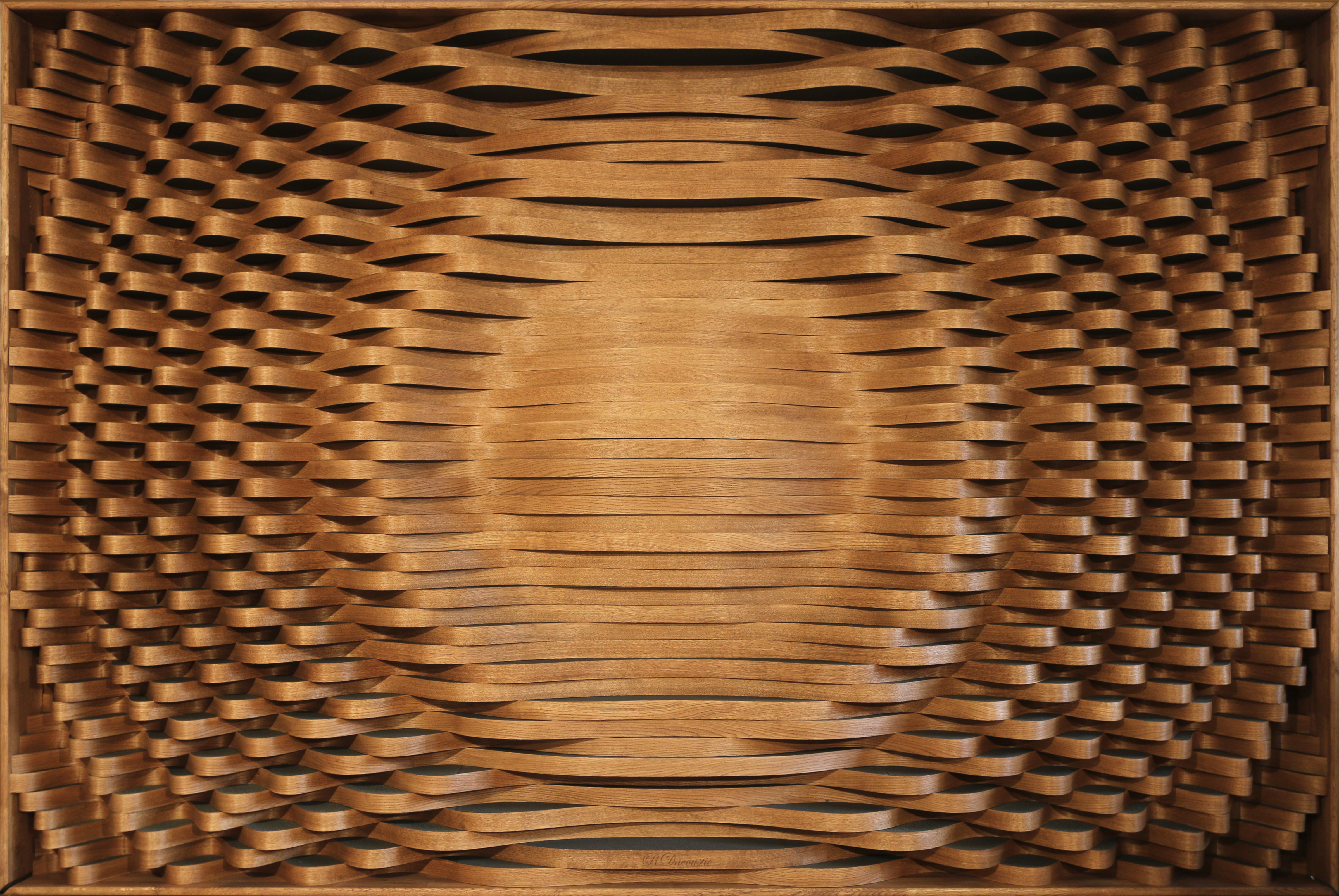 Hybrid Acoustic Diffuser – Wood/Foam
