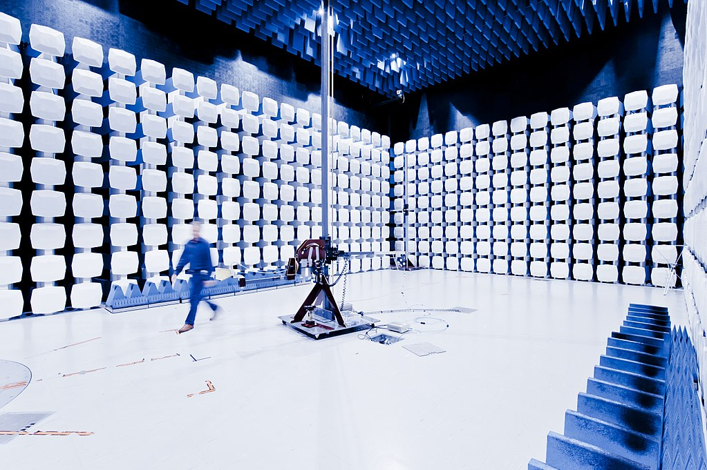 Anechoic chamber for EMC testing—Nemko, Norway